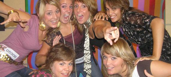 X6 meidengroep