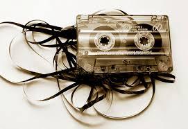 Cassette tape spaghetti
