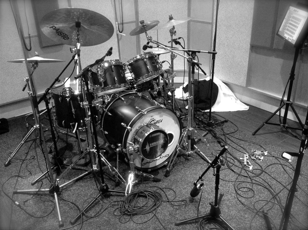 Drums opnemen doe je bij ons